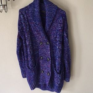 ZARA double breasted sweater size XL